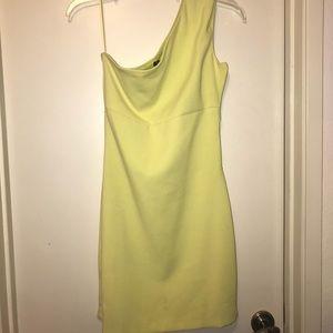 Zara One Shoulder Dress S